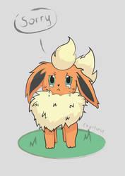 Sad Flareon