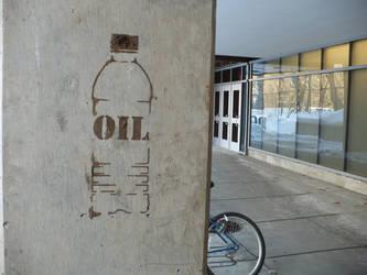 Oil Bottle by JesseGravesMSR