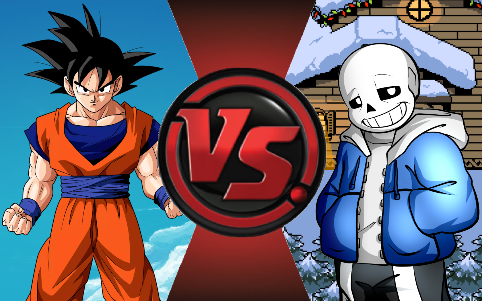 CFC Ideas|Goku vs. Sans by Vex2001