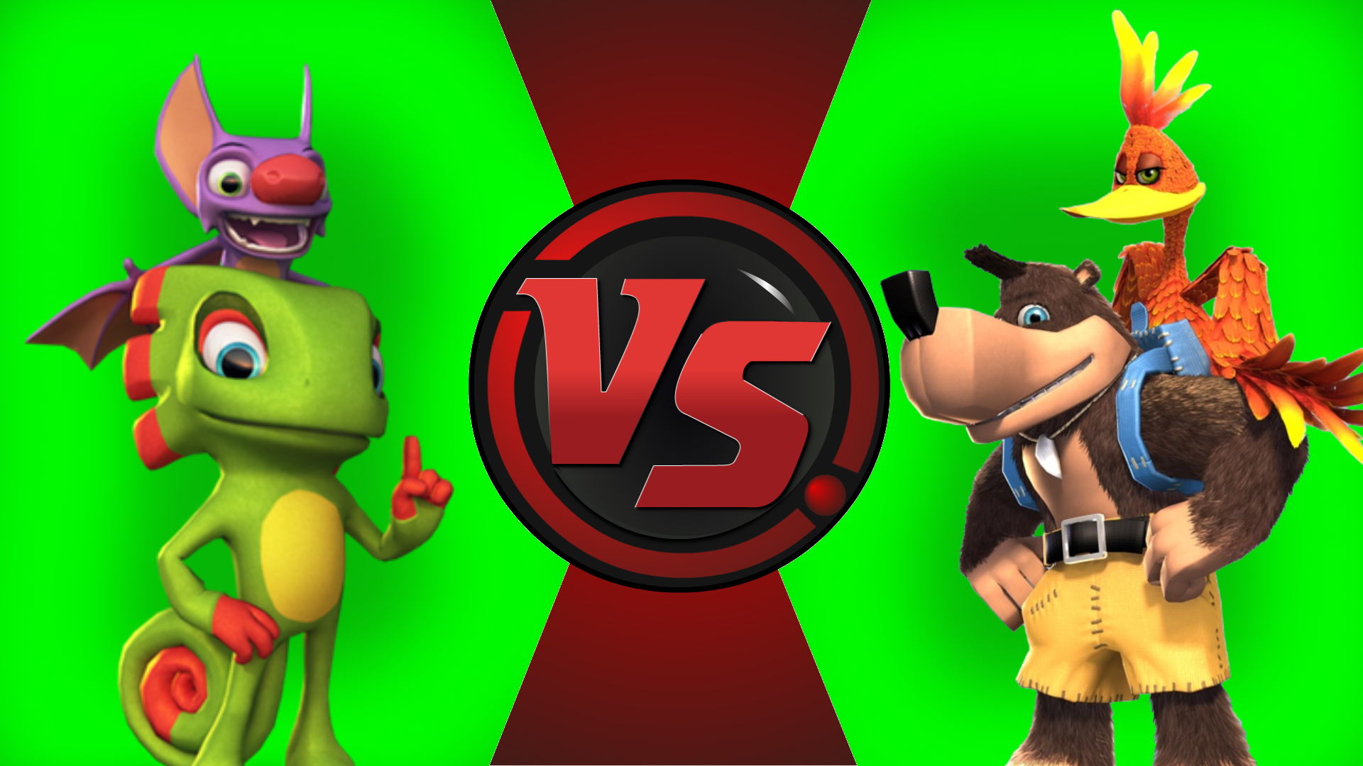 CFC|Yooka and Laylee vs. Banjo and Kazooie by Vex2001