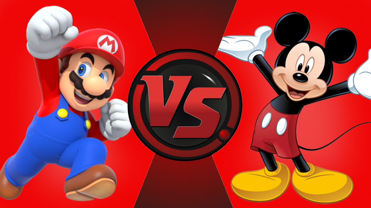 CFC|Mario vs. Mickey Mouse by Vex2001
