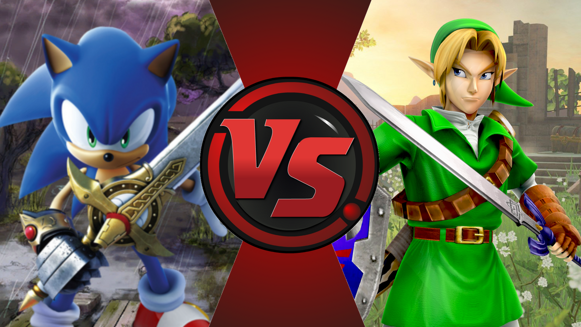 CFC|BK Sonic vs. Ocarina of Time Link by Vex2001