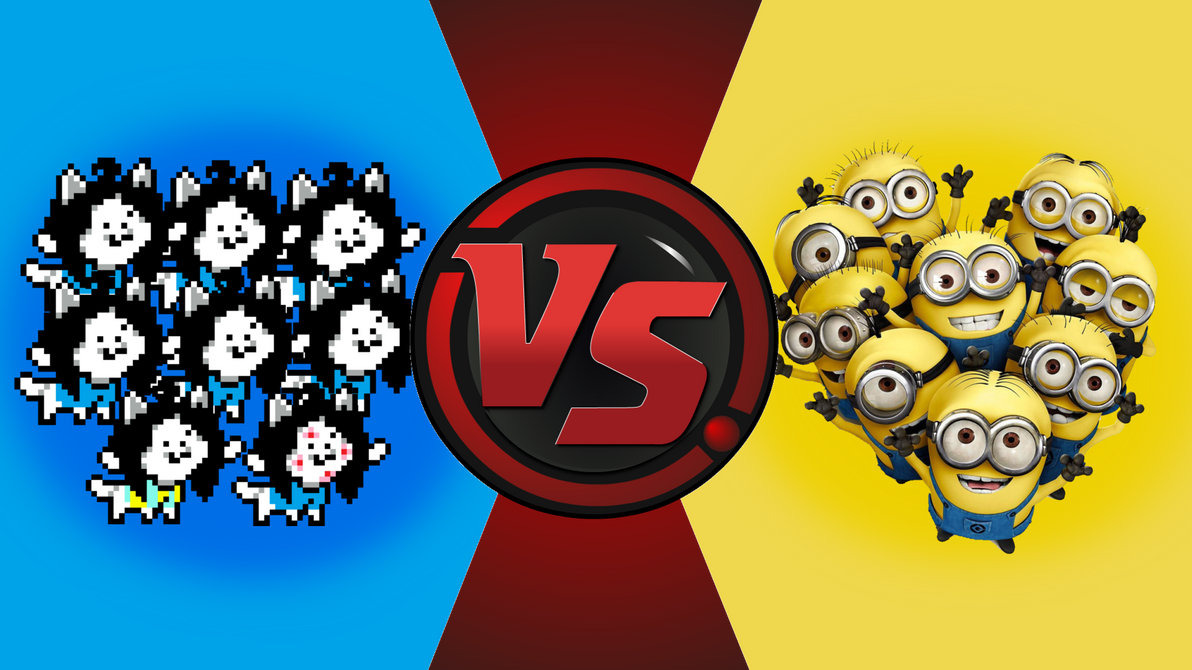 CFC|Temmies vs. Minions by Vex2001