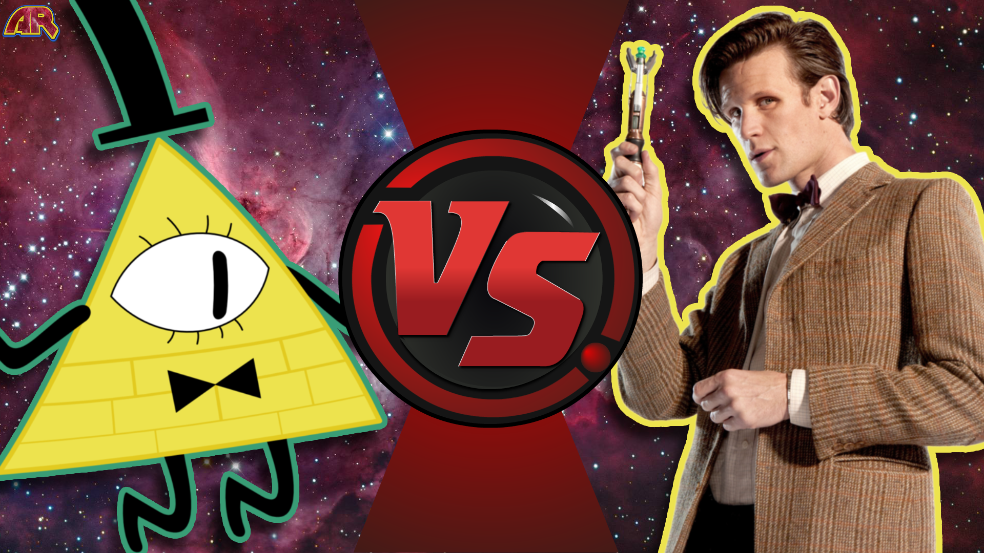 CFC|Bill Cipher vs. The Doctor by Vex2001