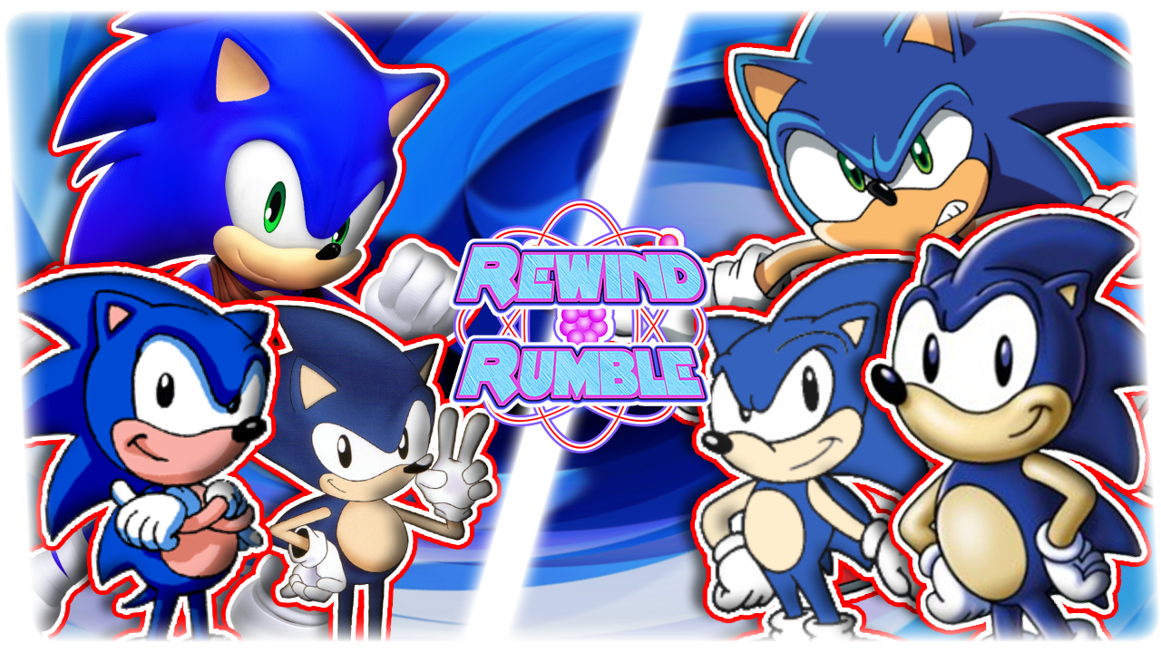 RR|Animated Sonics Free For All by Vex2001