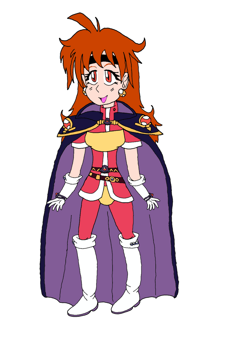 Lina Inverse from Slayers by Vex2001