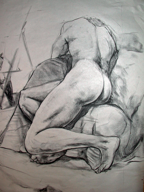 Life drawing 5 by algaegoblin
