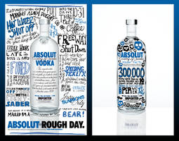 Absolut Rough Day by escapepodone