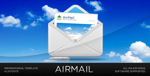 AIRMAIL - Email Template by escapepodone