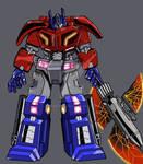 war of the Cybertron Optimus