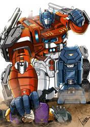 power master Optimus prime by whelp-li