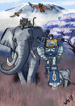 Soundwave loves elephant