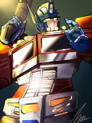 Optimus prime by whelp-li