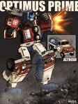 G2 Optimus prime redesign in ww2 style by whelp-li