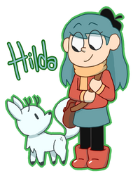 Hilda - Fan art by RosaTheFina