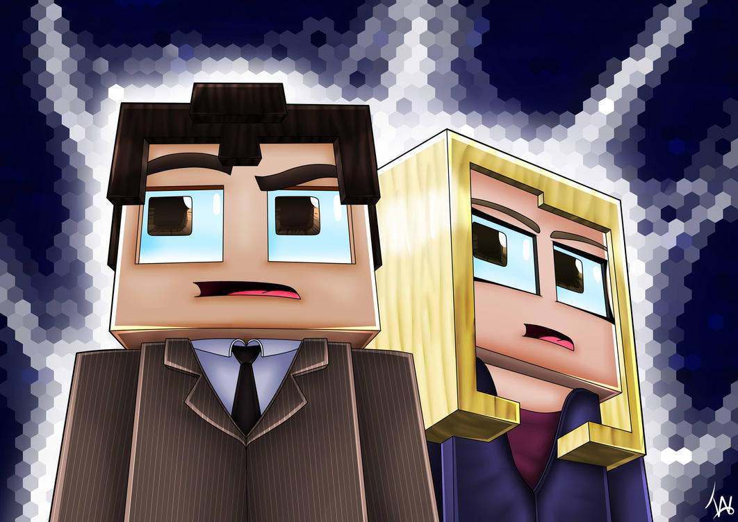 Doctor Who and Rose Tyler by IshmanAllenLitchmore