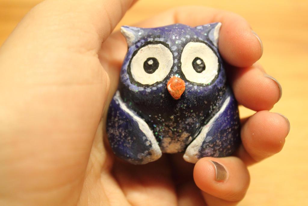 Clay Owl by FFairyy
