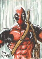 Deadpool ACEO 073111 by ChrisMcJunkin