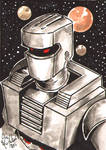 ROM Sketch Card Commission