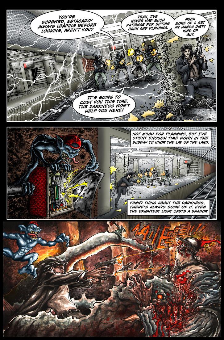 The Darkness II Entry by ChrisMcJ by ChrisMcJunkin