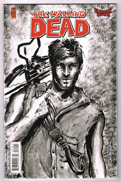 Walking Dead Daryl Dixon Sketch Cover By Chrismcjunkin On