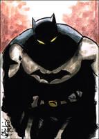 Batman ACEO 080612 by ChrisMcJunkin