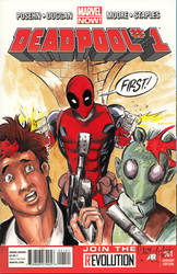 Deadpool Shoots First by ChrisMcJunkin