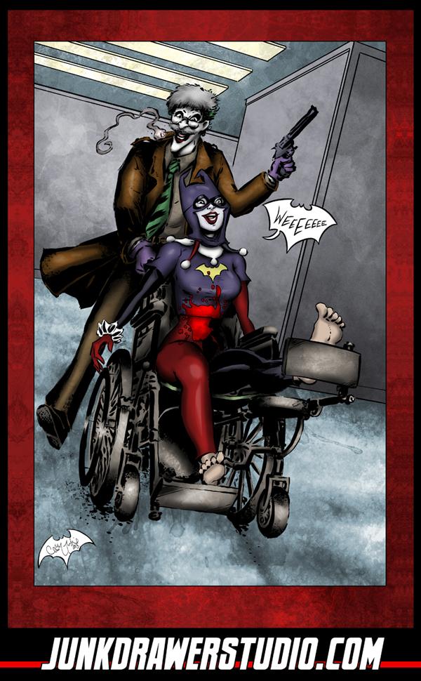Joker Harley Cosplay Fun by ChrisMcJunkin