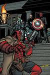 Hellboy VS Red Skull