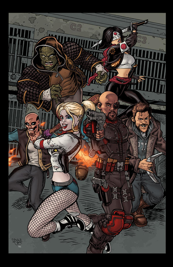 Suicide Squad Bustin Out by ChrisMcJunkin