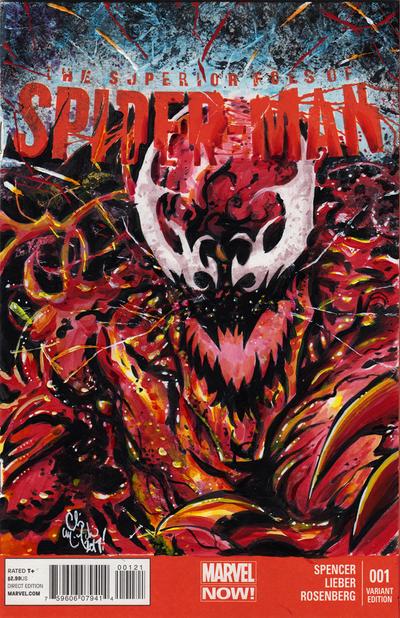Superior Carnage Sketch Cover by ChrisMcJunkin