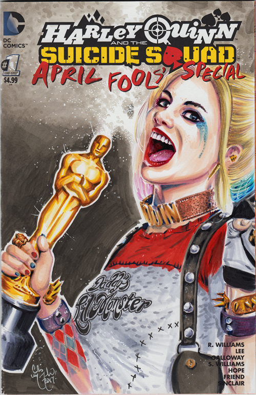 Harley Quinn Suicide Squad Oscar Win by ChrisMcJunkin