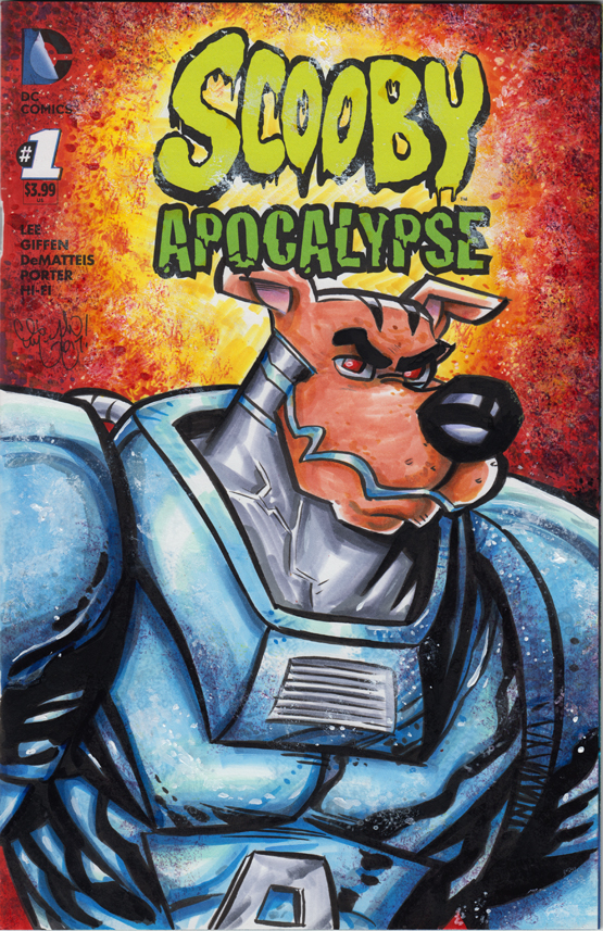 Scooby Doo Apocalypse Sketch Cover by ChrisMcJunkin
