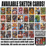 Available Sketch Cards Part 2