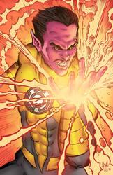 Sinestro by ChrisMcJunkin