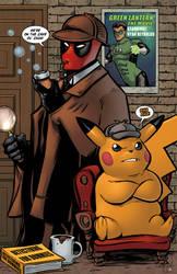 Detective Comics by ChrisMcJunkin
