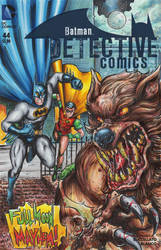 Batman and Robin vs Werewolf by ChrisMcJunkin