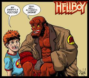 Hellboy by ChrisMcJunkin