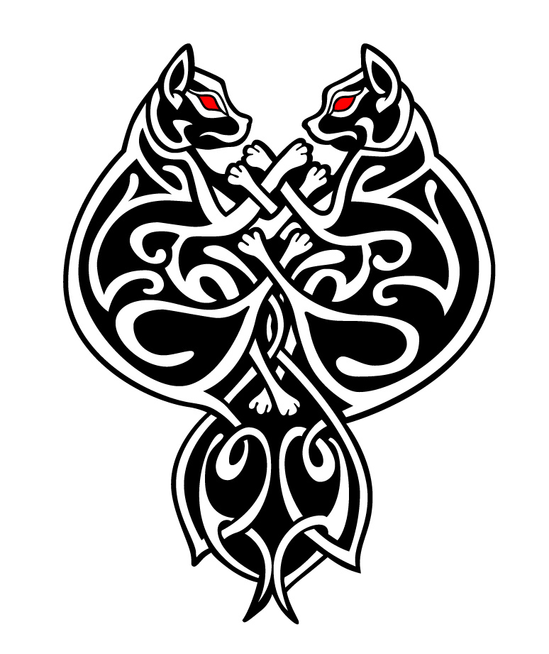 Celtic Cats Vector By Mouagip On Deviantart