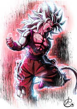 SSj4 Blue Goku