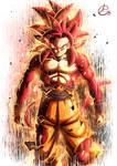 Goku Ssj4 God