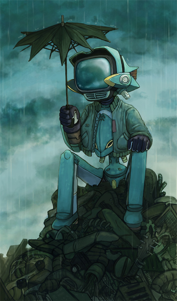 Lonely Robot - FLCL