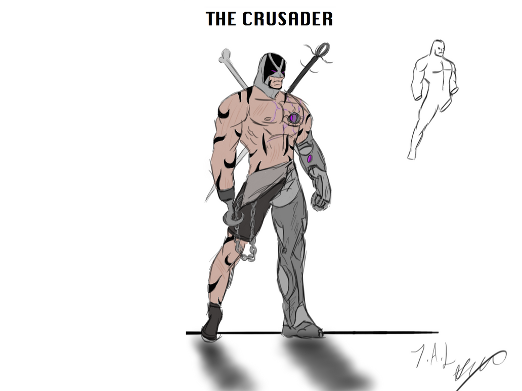The crusader by Joshua-Alan-Lee