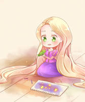 Rapunzel by HappyClementine