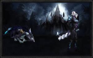 Draenai, Dragon and Darkness by Raiyca