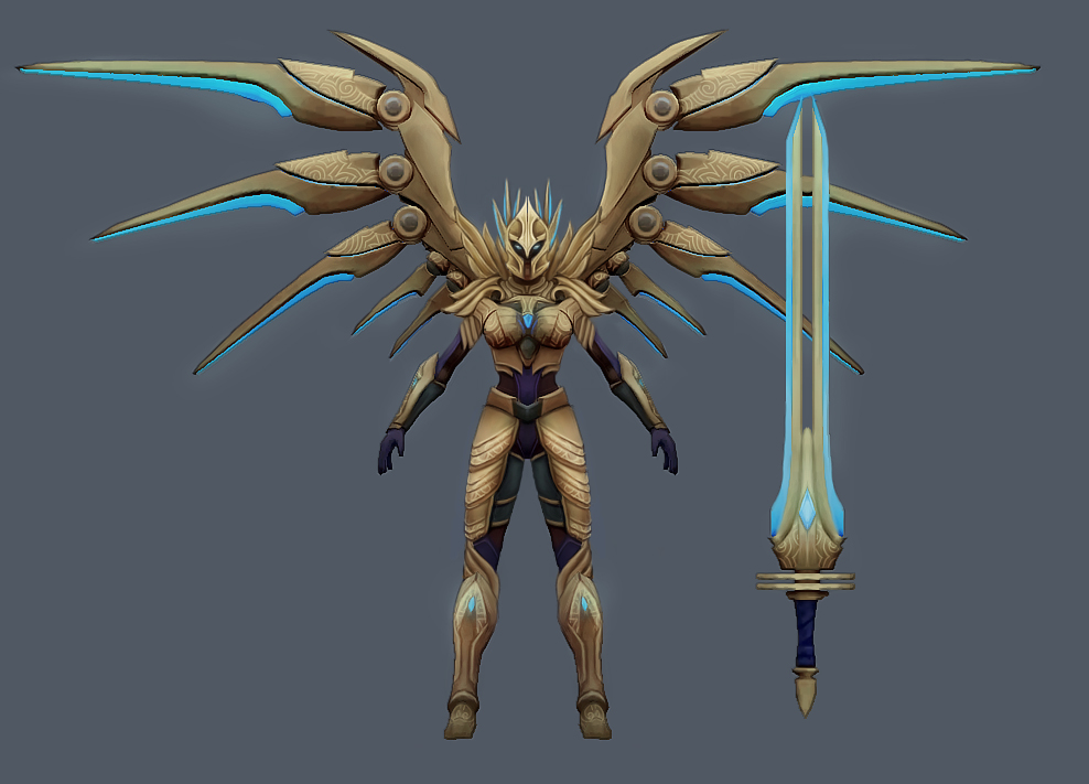 A little change to aether wing kayle (now that ctrl+5 is a ...