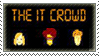 the it crowd - stamp by Sabattier