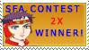 SFA 2 time winner by saintfighteraqua