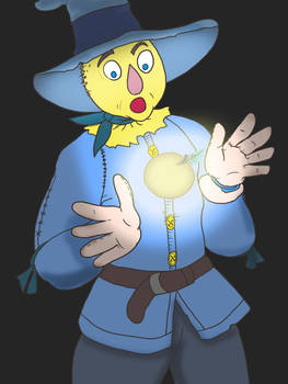 Scarecrow and the Golden Apple