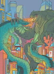 Waxtastic Kaiju Poster